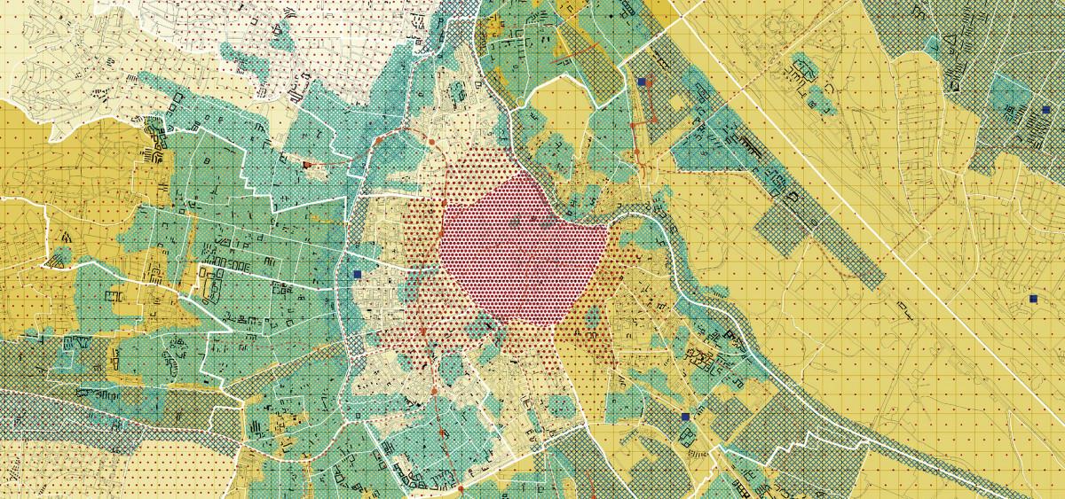 Wien Karte, Autorinnen:  Diego Martínez, Hannah Luca Kögler, Marek Nowicki, Veronika Wladyga